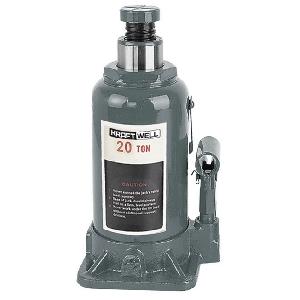 Домкрат бутылочный г/п 20 т. KraftWell KRWBJ20