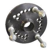 [GAR144]  Ravaglioli (Италия) Адаптер для колёс без центрального отверстия с 3-мя установочными пальцами (98-115-120-120,65-125-130-139,7 мм)