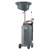 Установка для слива и откачки масла/антифриза с круглой подъемной ванной, мобильная KraftWell KRW1832.80