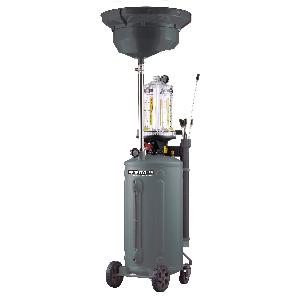 Установка для слива и откачки масла с предкамерой KraftWell KRW1839.80