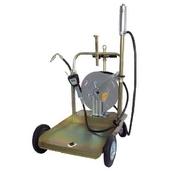 [1764.P]  APAC (Италия) Комплект для раздачи масла из бочек мобильный, с тележкой и катушкой