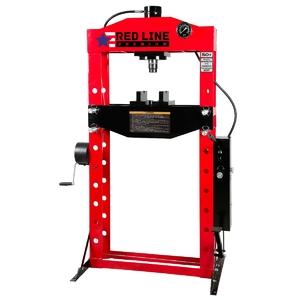 Пресс гидравлический напольный 50 т., с ручным и ножным приводом Red Line Premium RHP50F
