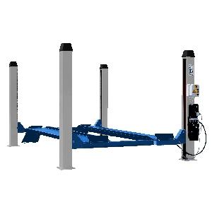 [436(OMA520)]  Werther-OMA (Италия) Подъемник четырехстоечный г/п 3500 кг. платформы гладкие