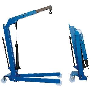 [W107LP(OMA589B)]  Werther-OMA (Италия) Кран складной г/п 500 кг. двухтактный низкопрофильный