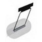 Держатель полотенца (чёрный) Ferrum 02.A10