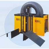 Ванна для проверки колес на герметичность с пневмоприводом Lamco VL22