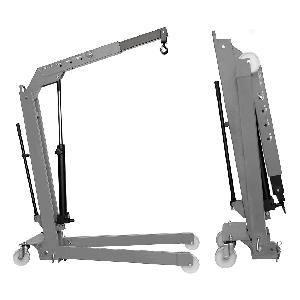 [W107SE(OMA586)_grey]  Werther-OMA (Италия) Кран складной г/п 500 кг. однотактный
