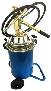 Нагнетатель масла и густой смазки с ручным приводом HG-68012M AE&T солидолонагнетатель