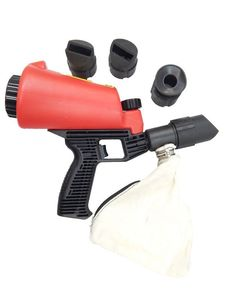Пескоструйный пистолет со встроенной емкостью для песка (1л) и резиновыми насадками (4шт) Forsage HSB-I