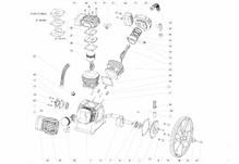 Запчасти для LB 40 компрессорного блока lb-40 remeza ремеза aircast