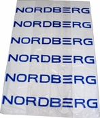 пакеты для колес 110х110 см 18мкм Nordberg с логотипом