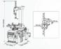 Сивик Sivik КС-402А Про автоматический шиномонтажный станок стенд
